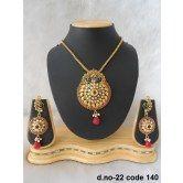 rich-lady-awesome-maroon-designer-pendant-set