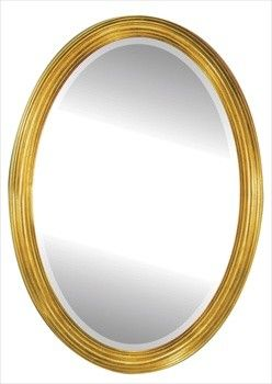 Alno Creations Gold Oval Mirror - Framed Gold 2002-122