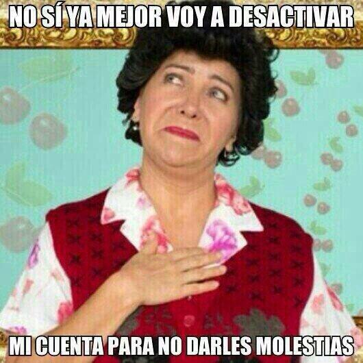 Doña Lucha, solo con ver su carita me da risa jajajajajaja