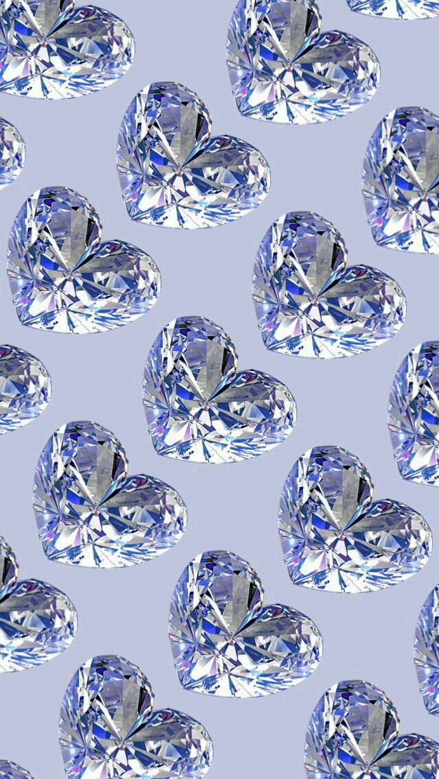 Image Uploaded By Amyjames Find Images And Videos About Love Heart And Luxury On We Heart It The App To Diamond Wallpaper Heart Wallpaper Glitter Wallpaper