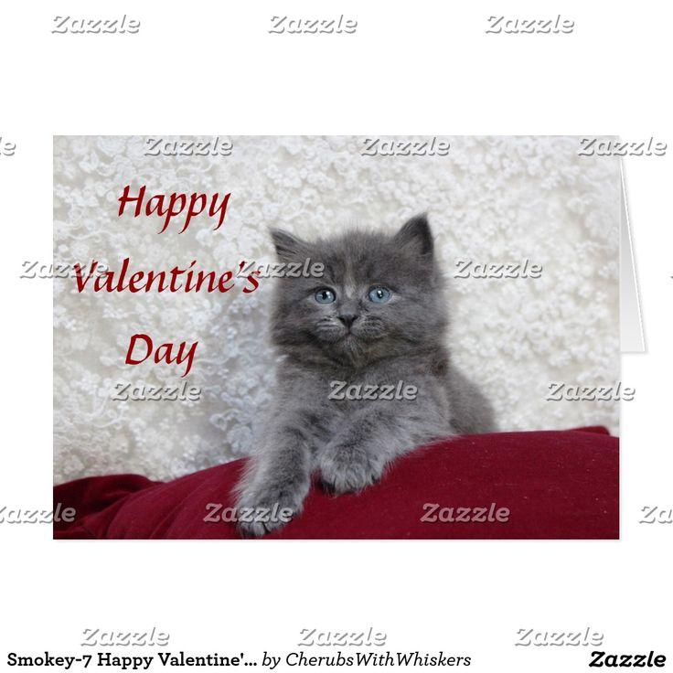 grumpy cat wedding invitations%0A Smokey  Happy Valentine u    s Day Card