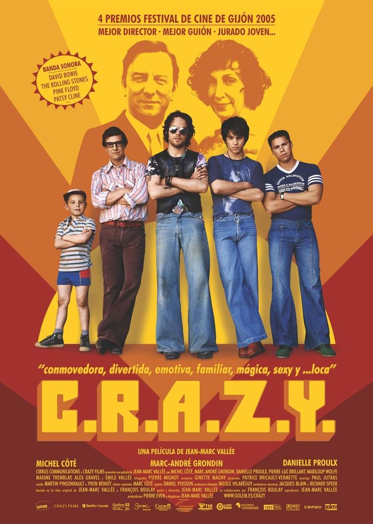 "C.R.A.Z.Y. Extraordinary lives of ordinary people in search of love and happiness - that's the premise of ""C.R.A.Z.Y"", a family drama unlike any other. #Toronto #NY #LA #LONDON #Movie #AMPTalent"