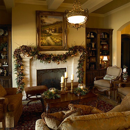 Rooms We Love: This Classic Holiday Mantel By Dawn Hearn Of Dawn Hearn Interior  Design