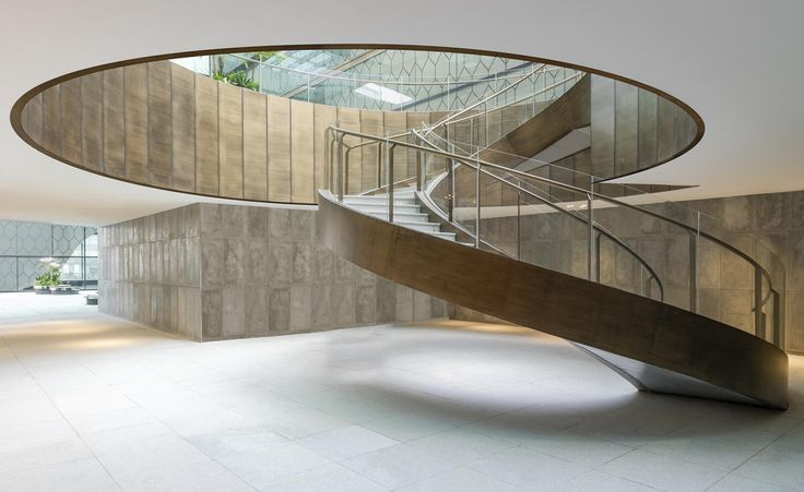 Sybarite Designs A 2 7 Million Sq Ft Luxury Retail Destination In China S Oldest City Stairs Design Interior Stairs Spiral Staircase