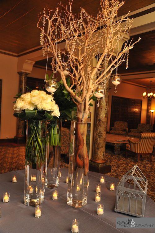 87 Best Images About Wedding Manzanita Branch Centerpieces