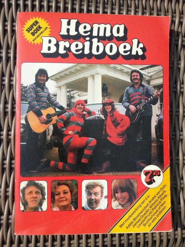 Het Hema Breiboek. Elke winter een trui uitzoeken die door Oma werd gebeid