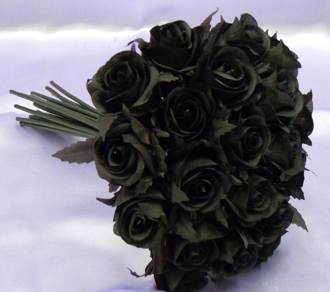 черная роза букет фото для