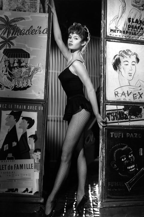Brigitte Bardot in Doctor at Sea.