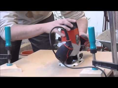 como hacer mesa fresado casera - YouTube
