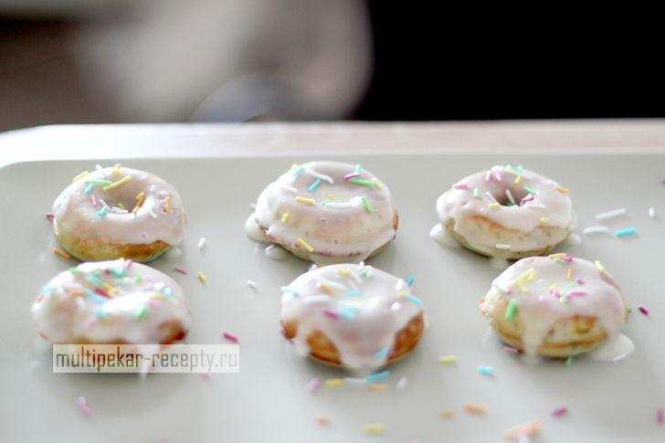 Пончики в мультипекаре американские