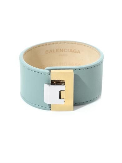 Shop now: Le Dix leather cuff