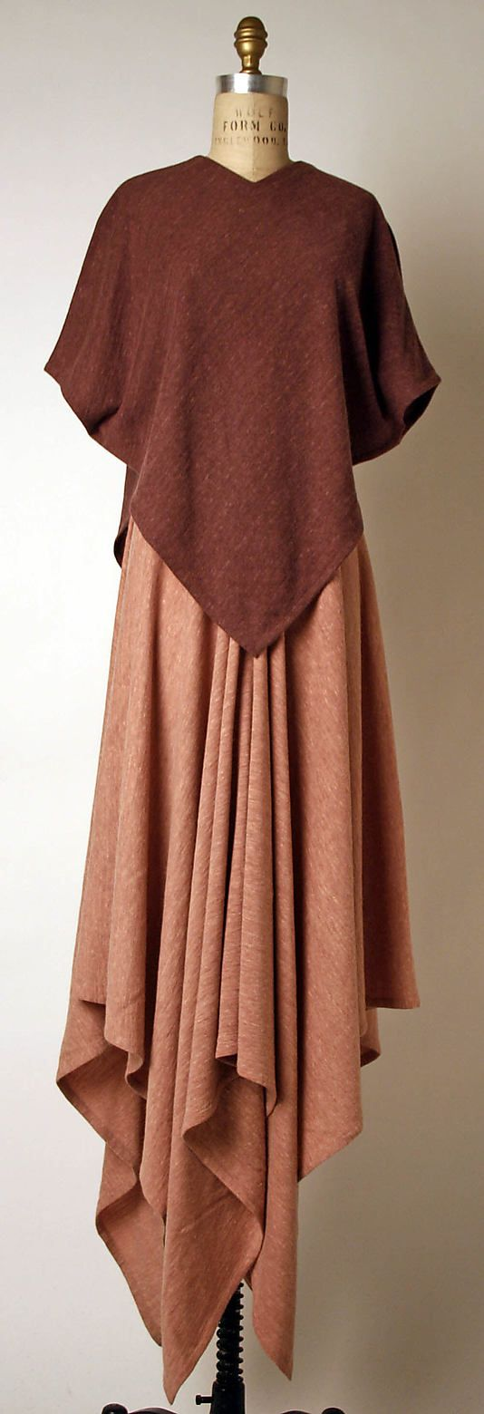 Ensemble, Madame Grès (Alix Barton)  (French, Paris 1903–1993 Var region) late 1960s-mid-1980s