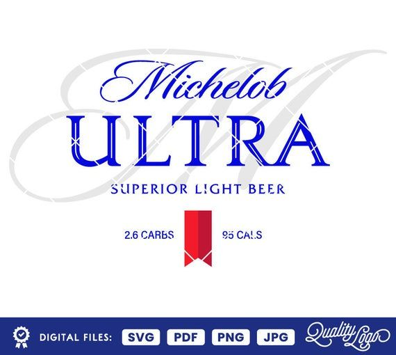 Descarga Inmediata Logotipo Michelob Ultra Con Esta Compra Recibiras Un Comprimido Zip Que Contiene 3 Archivos Svg 3 Archivo Archivos Svg Svg Archivo Png