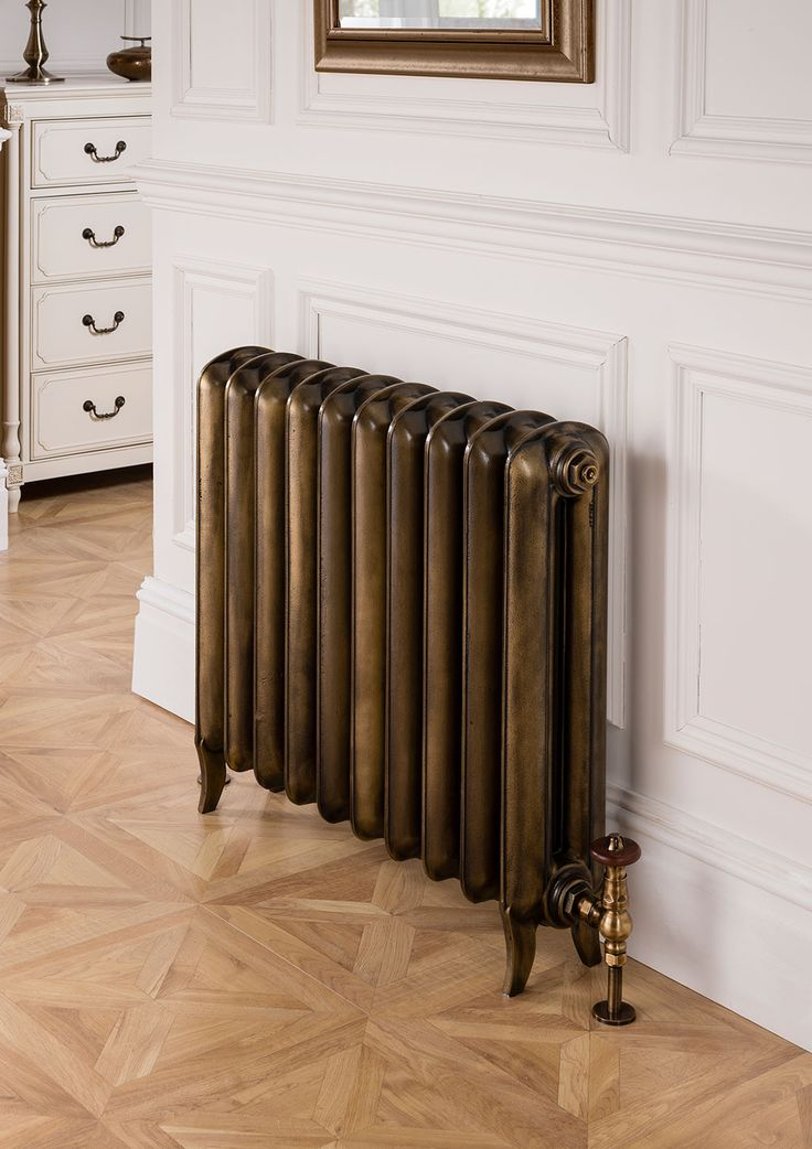The Linton from The Radiator Company is a classic victorian Princess style cast iron radiator. Perfect for period homes or if you want a touch of tradition in your home.