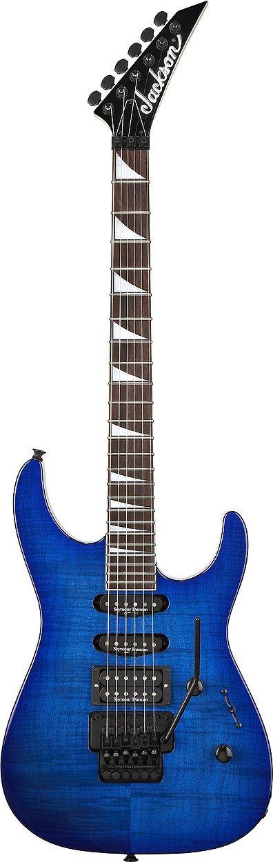 Jackson DK2 - Dinky (Transparent Blue)..... How beautiful