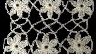 uniones con flores de cadenitas - YouTube