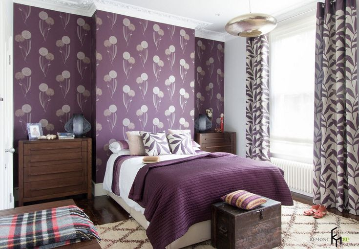 Спальня в деревенском варианте