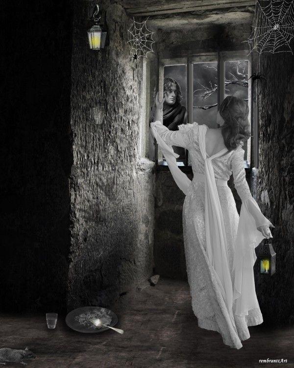 Dark room - locked up
