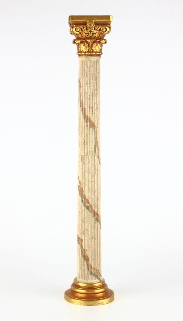 Columna De Madera Para El Belen Columnas De Madera Columnas Romanas Columnas Arquitectura