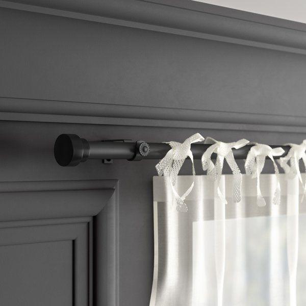 New Hartford Single Curtain Rod Hardware Set Curtain Rod