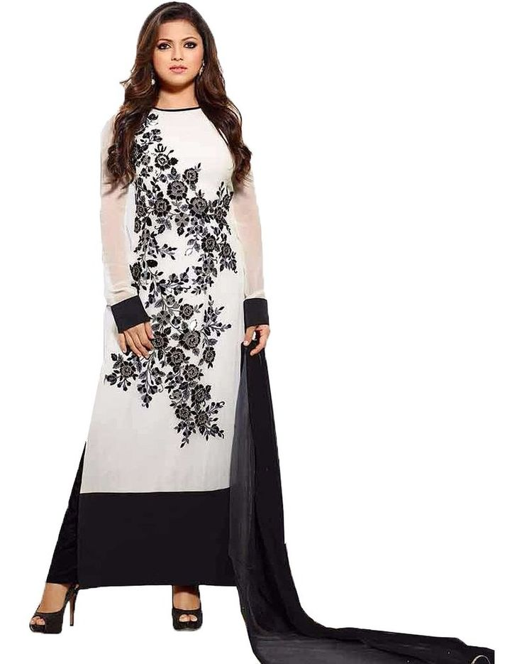 240 best images about dress material on pinterest salwar for Wedding dress material online