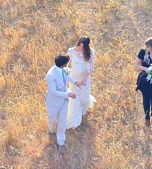 Йен Сомерхолдер и Никки Рид поженились: первые фото со свадьбы
