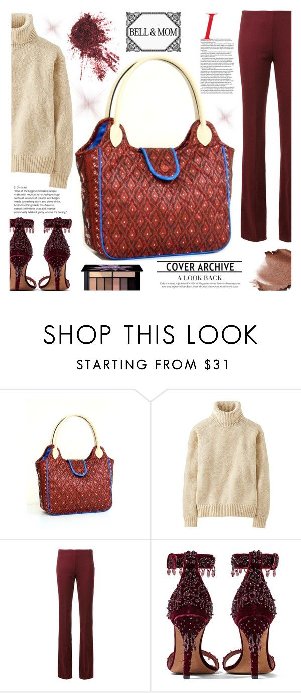 """BELL&MOM"" by gaby-mil ❤ liked on Polyvore featuring Uniqlo, Givenchy, Smashbox, handbag, handmade and bellandmom"