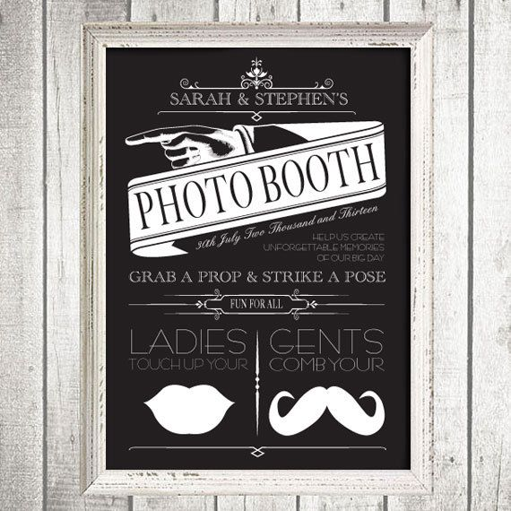 Vintage custom photo booth sign printable file by idoityourself vintage custom photo booth sign printable file by idoityourself 2000 mr and mrs sandell pinterest photo booth wedding and handmade wedding solutioingenieria Images