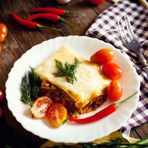 Homemade Frozen Lasagna
