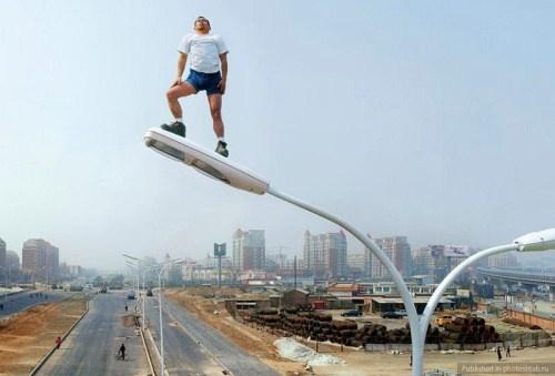 Cheating Gravity: Photography Project by Li Wei – Oddy Central | Shocking News | Weird News | Bizarre News