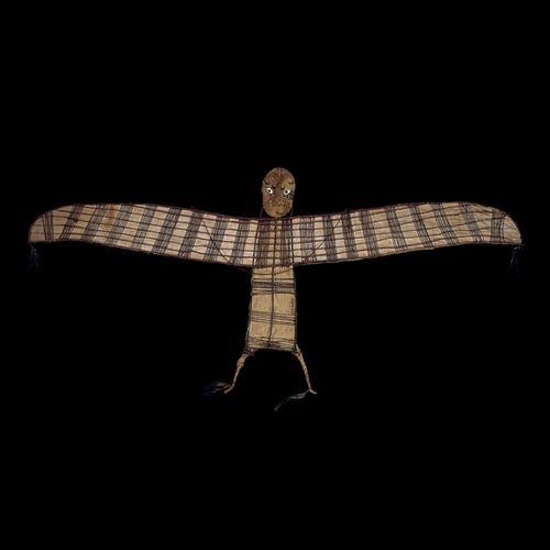 Tumblr omgthatartifact Bird Kite Maori, early 19th century The British Museum