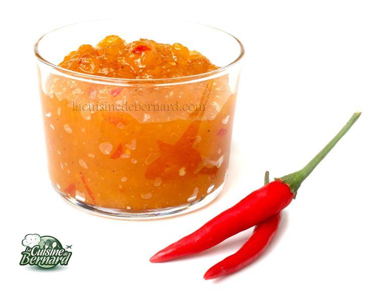 La Cuisine de Bernard : Le Chutney de Mangue