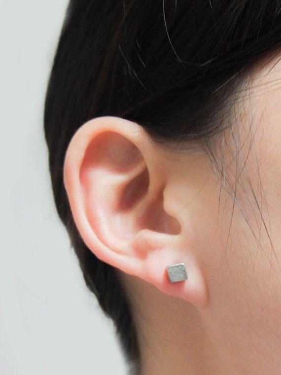 Square Bar Earrings,