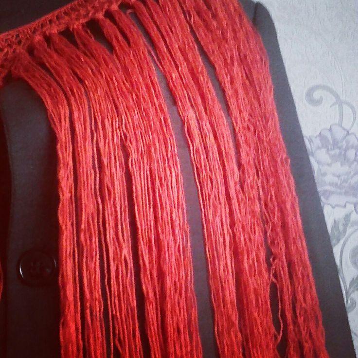 Flecos Flamenco Фламенко Флекос Collar Crochet