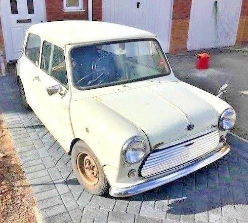 eBay: 1968 Mk2 Austin Mini Cooper S Project #classicmini