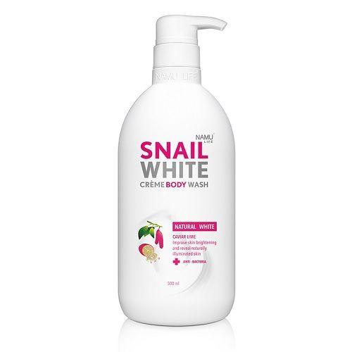 Snail White Creme Body Wash 500ml Natural White