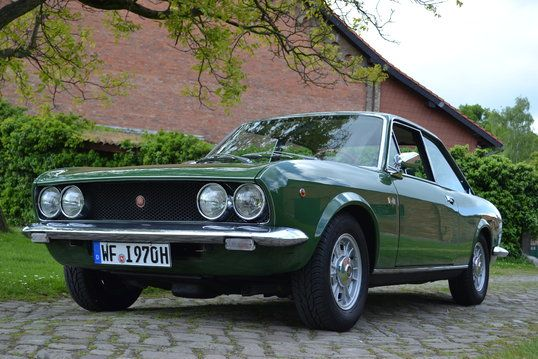 #Fiat #124 BC1 1600 Coupé Sport #italiandesign. Same car in had in the mid 70's.