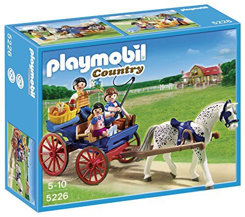 PLAYMOBIL Horse-drawn Carriage PLAYMOBIL® http://smile.amazon.com/dp/B0077QSMXM/ref=cm_sw_r_pi_dp_c78ywb1ES37H8