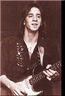 Another very early pic of Stevie Ray Vaughan. Here you can clearly see number 1 is clean and not nearly as worn and battered as it would end up being. He really put his life into that guitar http://eclipcity.com