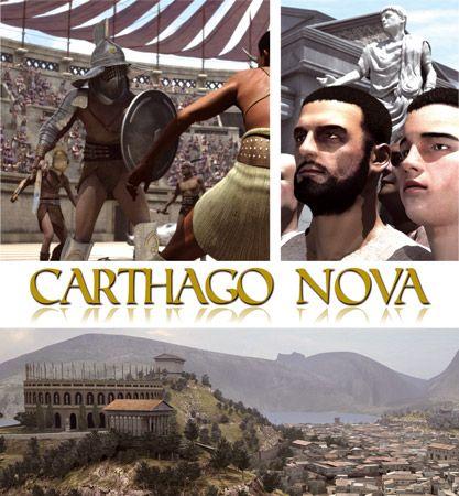 """Cartago Nova """"el esplendor de una era"""". Carthago Nova es un largometraje de animación digital que a través de una trama y unos personajes de ficción nos transporta al siglo I. d.C. y nos permite descubrir una de las ciudades más importantes de Hispania. #rinconccss #Recursoseducativos"""