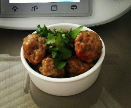 Ginger and Garlic Meatballs