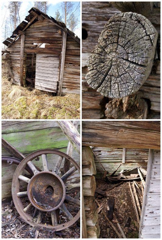 En dold skatt. I gamla fallfärdiga lador kan man hitta nästan vad som helst!