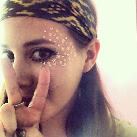 Festival makeup. EDM. Summer. Festivals. Ultra Music Festival ❤