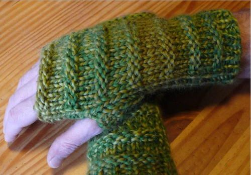 The 132 Best How To Knit Mittens Fingerless Gloves Images On