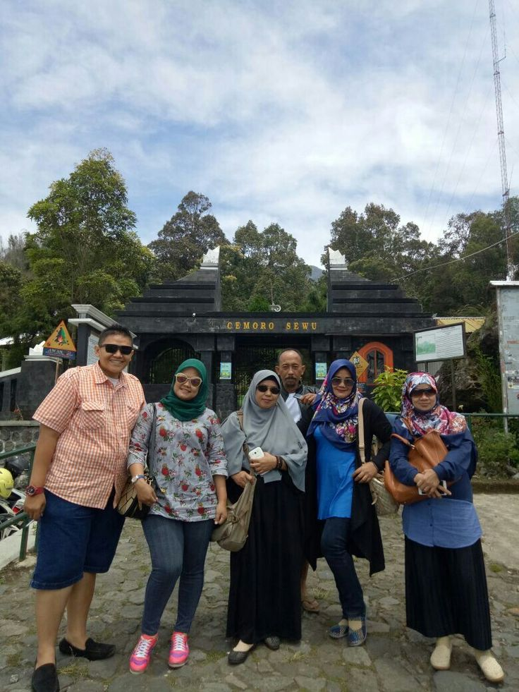 Cemoro Sewu Lawu mountain Magetan - Jawa Timur. Indonesia.