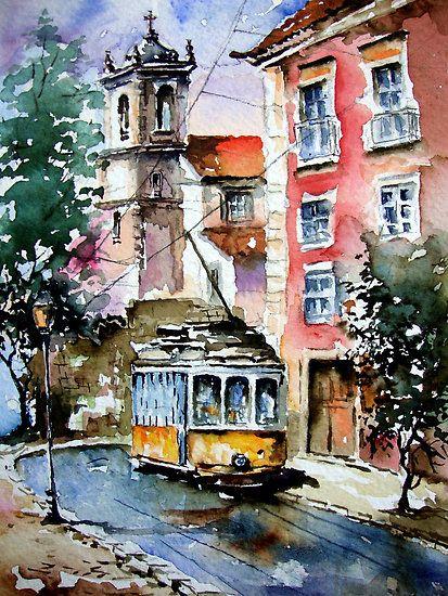Lisbon always be charming.. by Almeida Coval