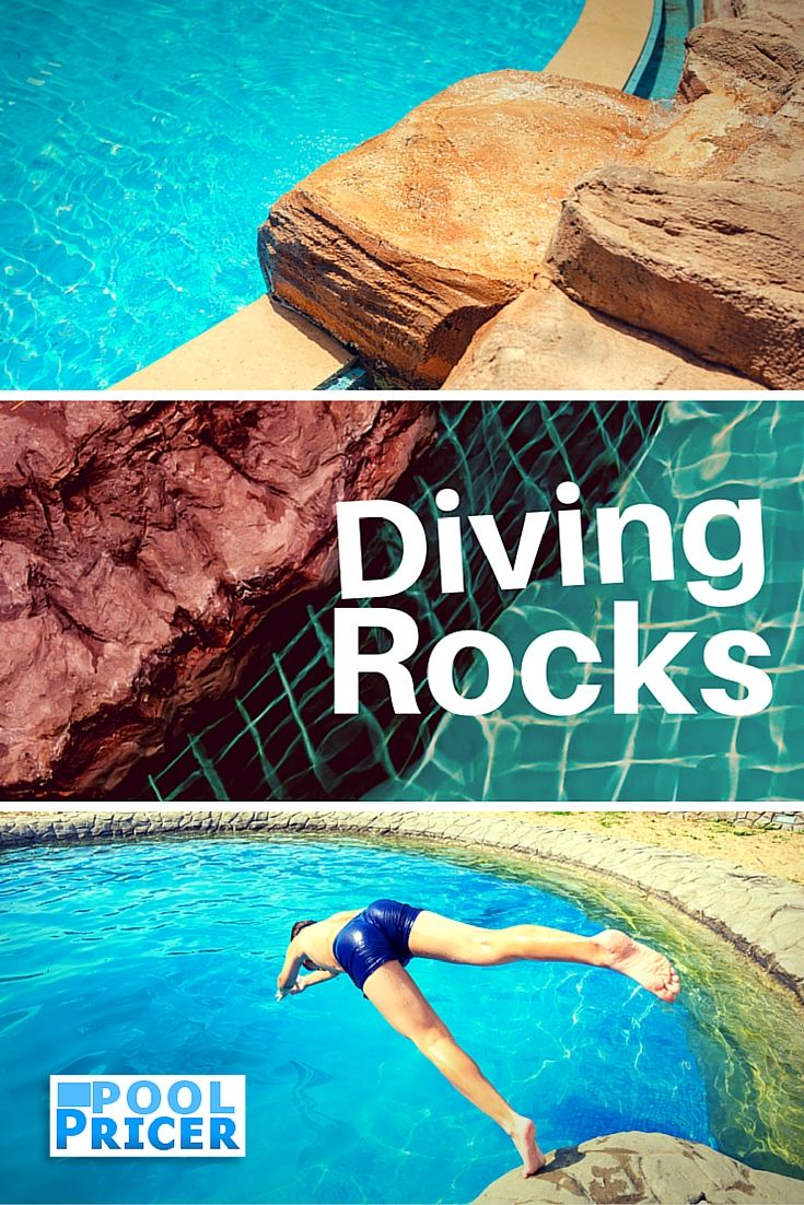 Diving Rocks For Inground Pools Naturally Awesome Pool