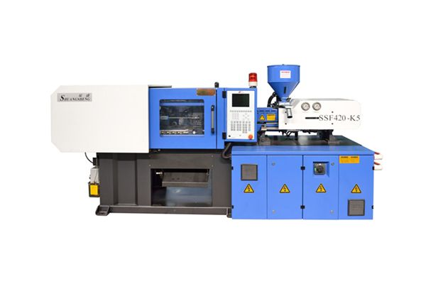 Newly designed small injection molding machine(SSF420-K5)