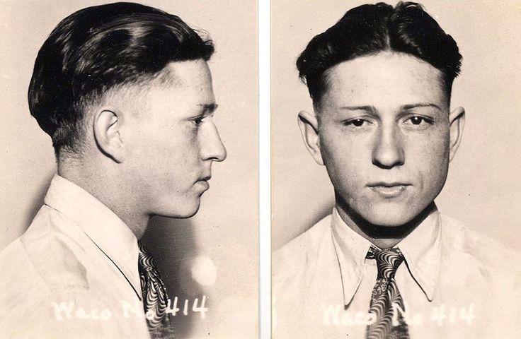 Clyde barrows mug shot from the mclennan county jail
