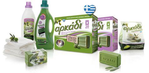 ArkadiSoap.gr   Πράσινο σαπούνι Αρκάδι   Φυσικά προϊόντα καθαριότητας
